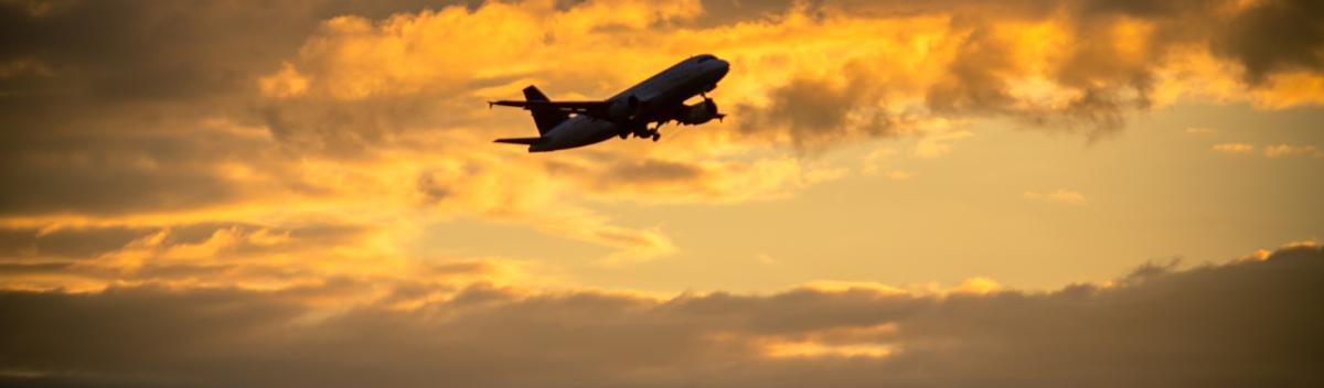 Luchthavenvervoer - vliegtuig